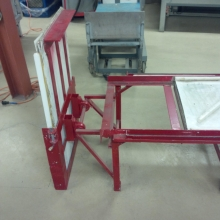 Fabrication d'une scie à ruban pour glaceIce band saw