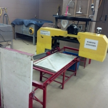 Ice band saw